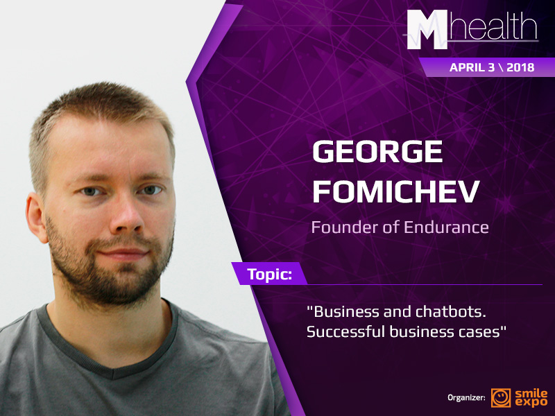George Fomichev at M-Health Congress: chatbot prospects in healthcare