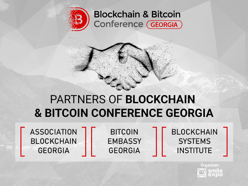 Georgian crypto community leaders support Blockchain & Bitcoin Conference Georgia