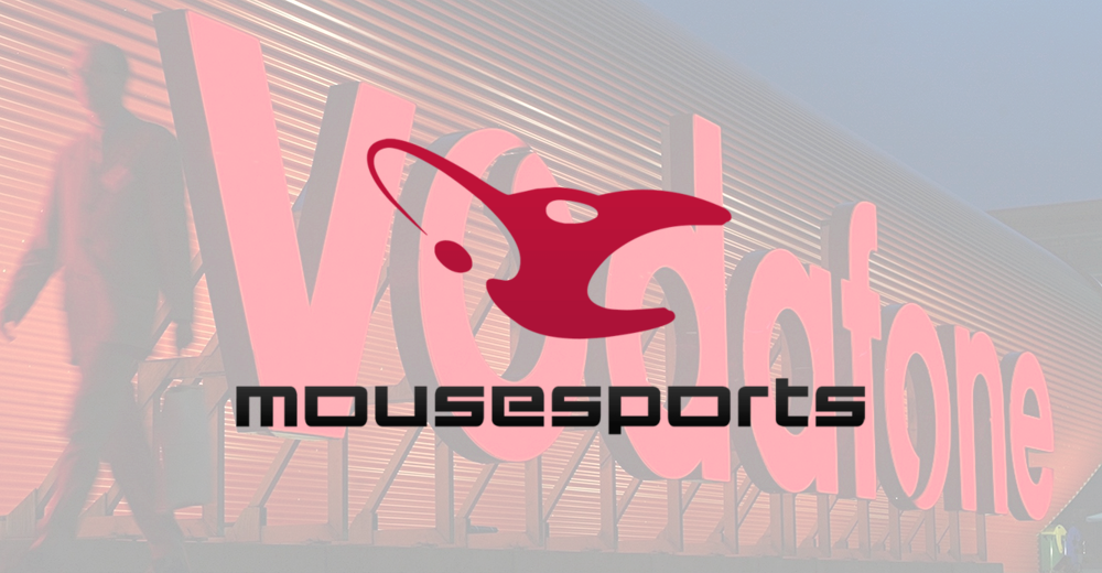 German Vodafone subsidiary becomes sponsor of Mousesports multigaming club