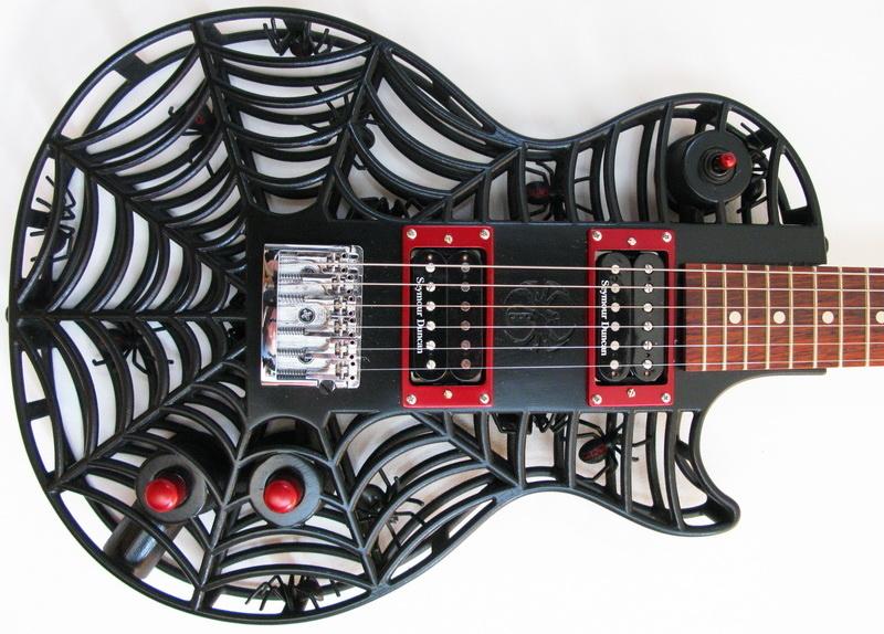 Гитары, напечатанные на 3D-принтере
