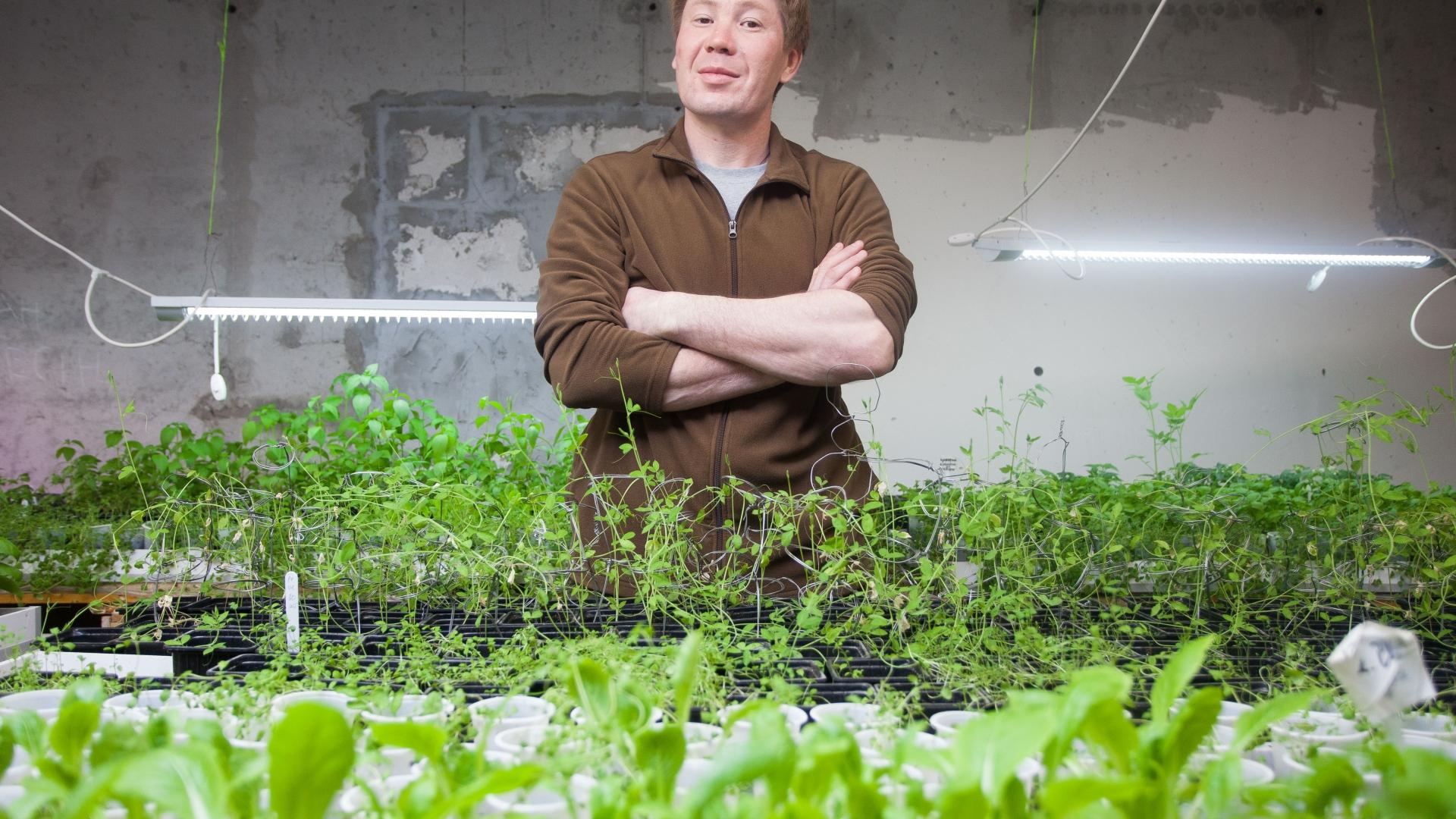 Житель Казахстана создал собственную ферму в городе