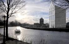 Голландские трехмерные дома