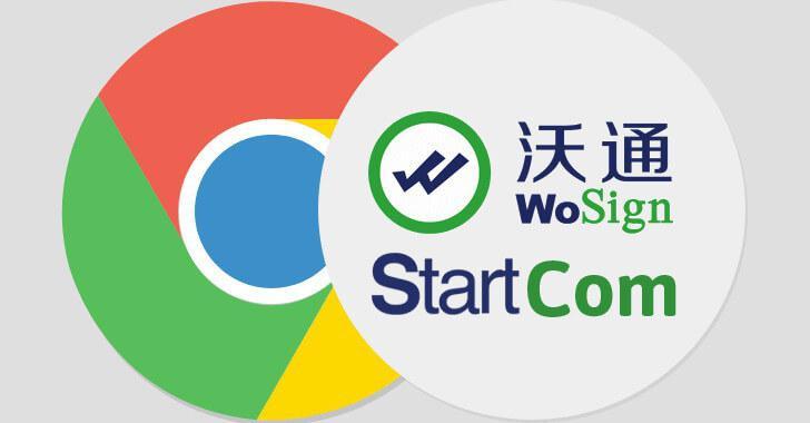Google блокирует все сертификаты StartCom и WoSign