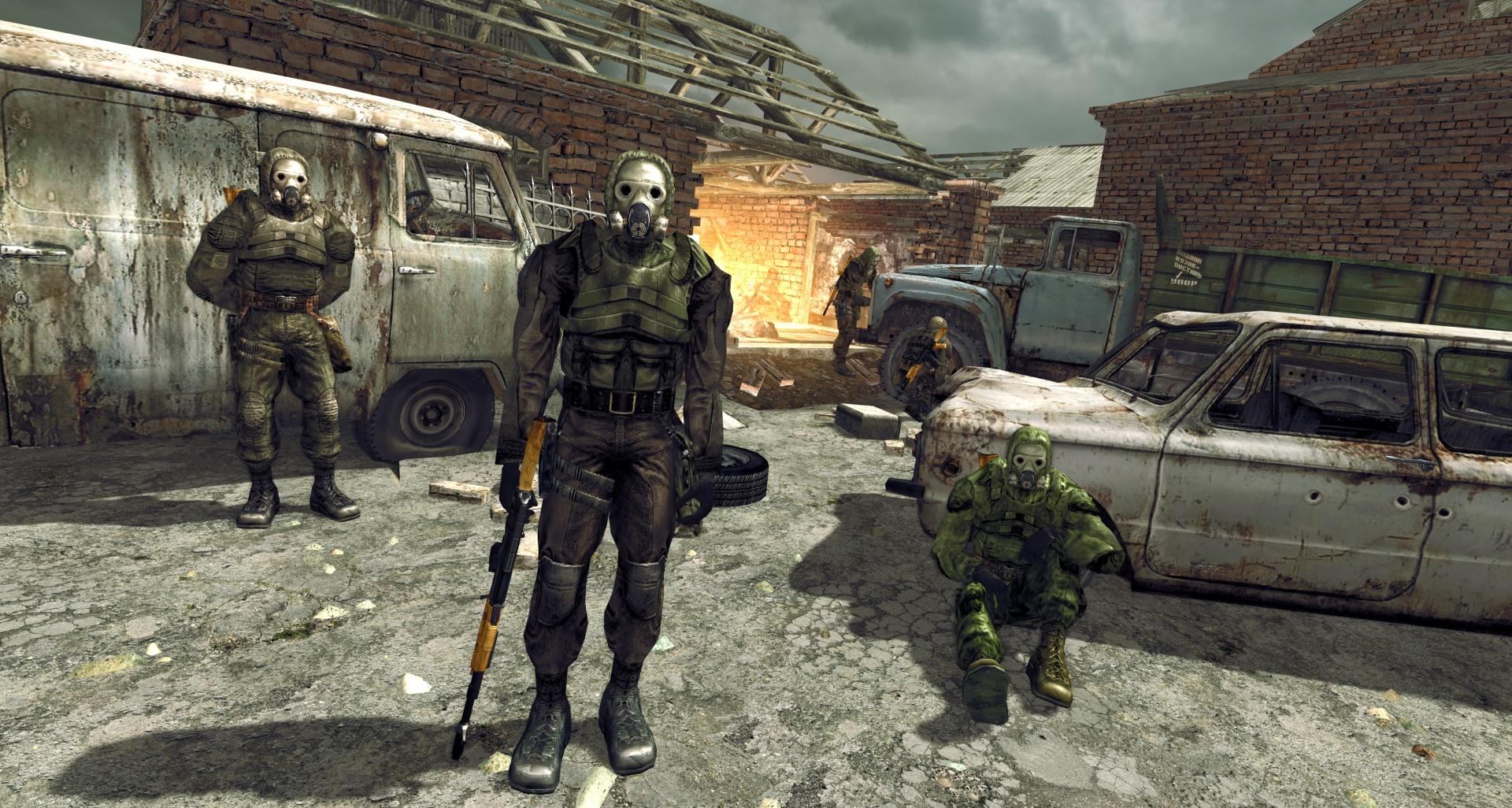Графику первой части S.T.A.L.K.E.R. «обновляют» при помощи движка CryEngine 3