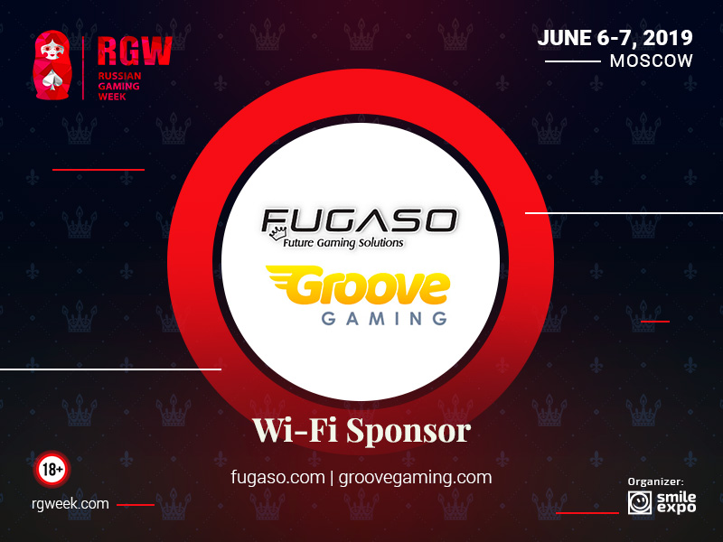 Groove and Gaming&Fugaso will support Wi-Fi coverage at Russian Gaming Week 2019
