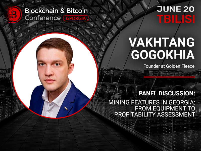 How Are Cryptocurrencies Mined in Georgia? Vakhtang Gogokhia, Founder at Golden Fleece, Will Answer the Question