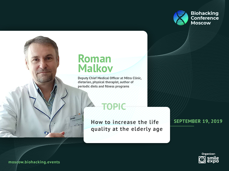 How to Maintain Physical and Psychological Health Until Old Age: Physical Therapist and Gastroenterologist Roman Malkov