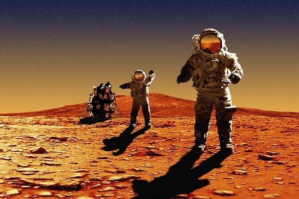 Human colonies on Mars will appear in 20 years
