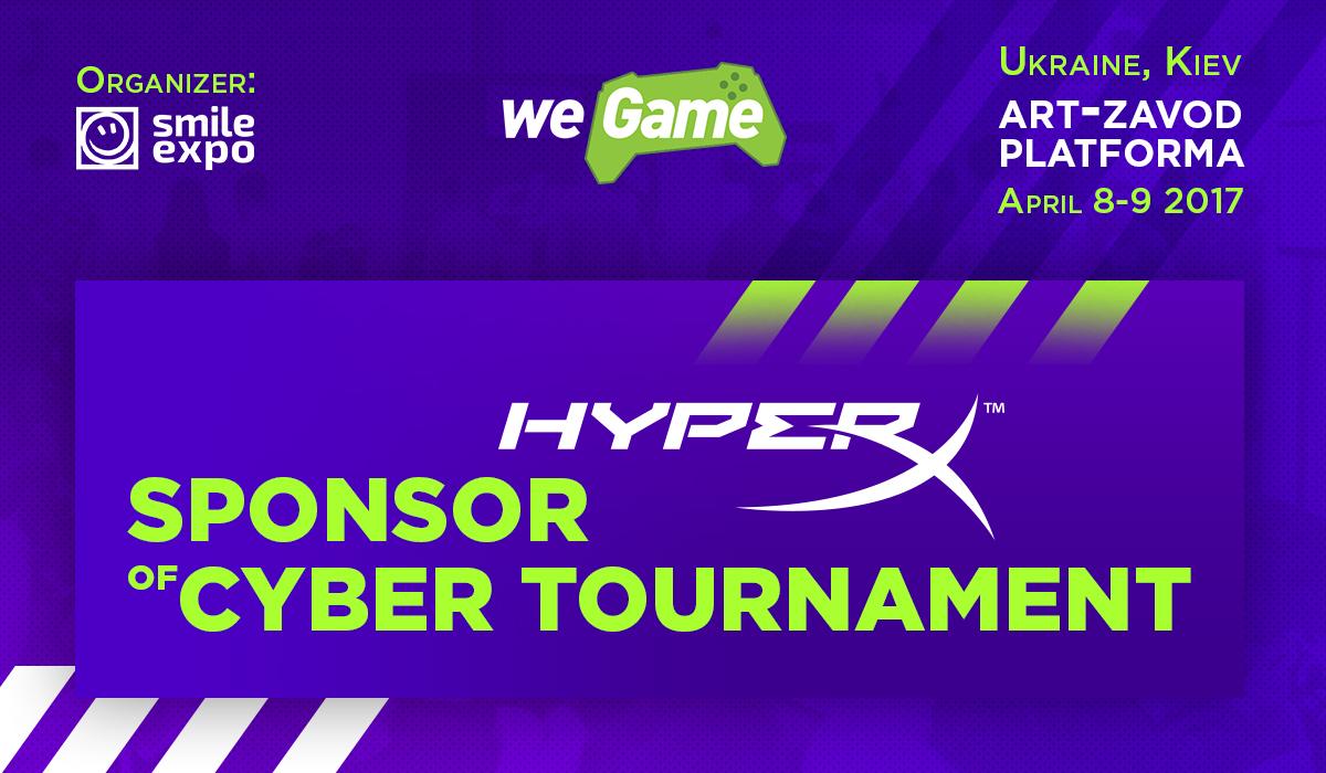 HyperX became WEGAME VaultCup eSports tournament sponsor!