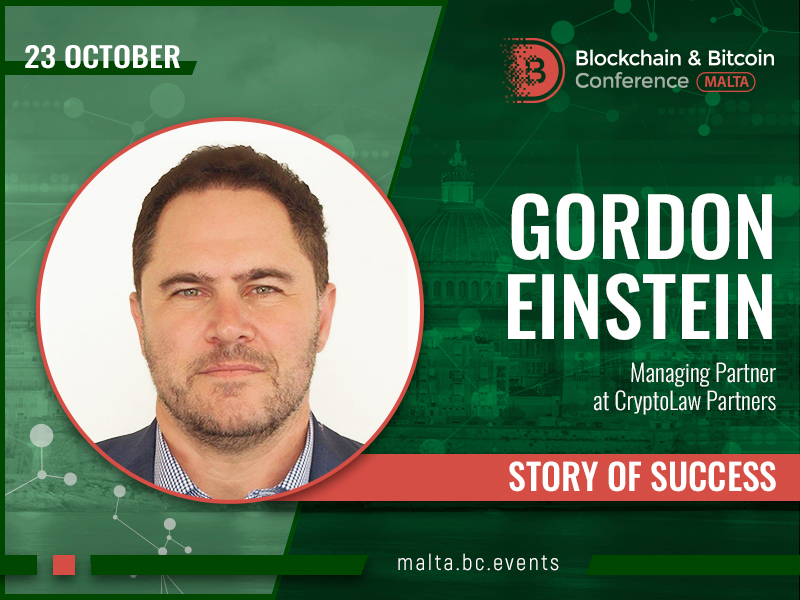 I Want Blockchain to Win and Change the World – The Story of Gordon Einstein, Managing Partner at CryptoLaw Partners