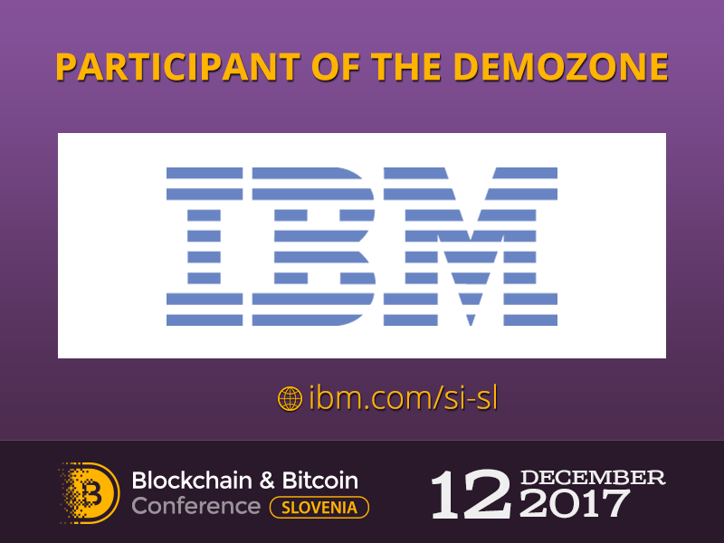 IBM will present a project Composer at Blockchain & Bitcoin Conference Slovenia 2017