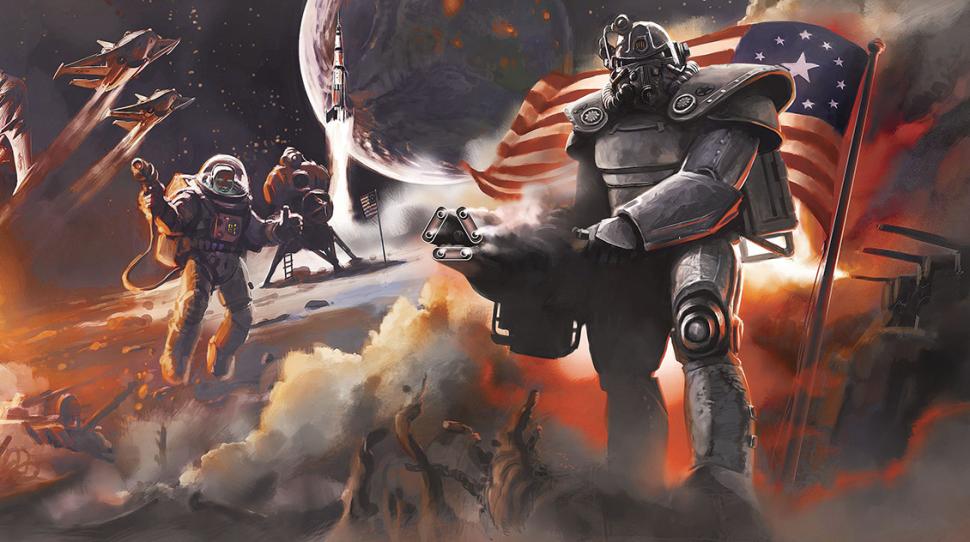 Игроков Fallout 4 ожидает полет на Луну