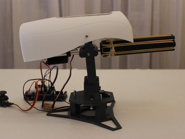 Игрушечную турель напечатали на 3D-принтере