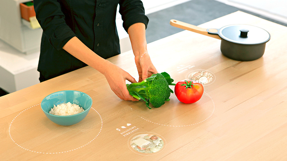 IKEA presented its kitchen of the future