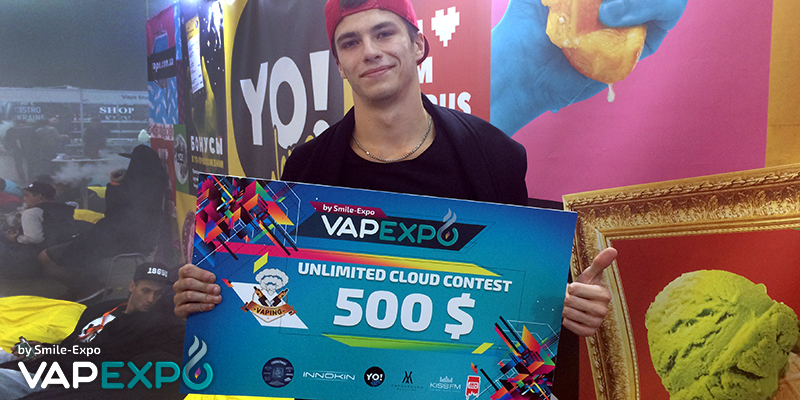 Ilya Makurin, Unlimited Cloud Contest winner: Vaping industry in Ukraine is rapidly evolving