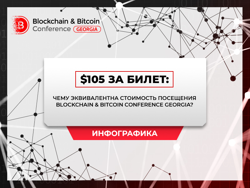 Индекс билета на Blockchain & Bitcoin Conference Georgia