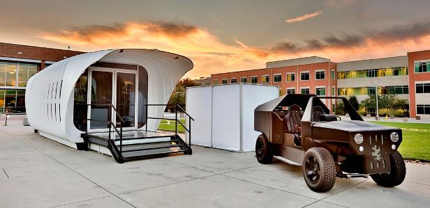 Интегрированная энергосистема с напечатанными на 3D-принтере деталями объединяет дом и автомобиль