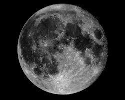 Интересная инфографика о Луне