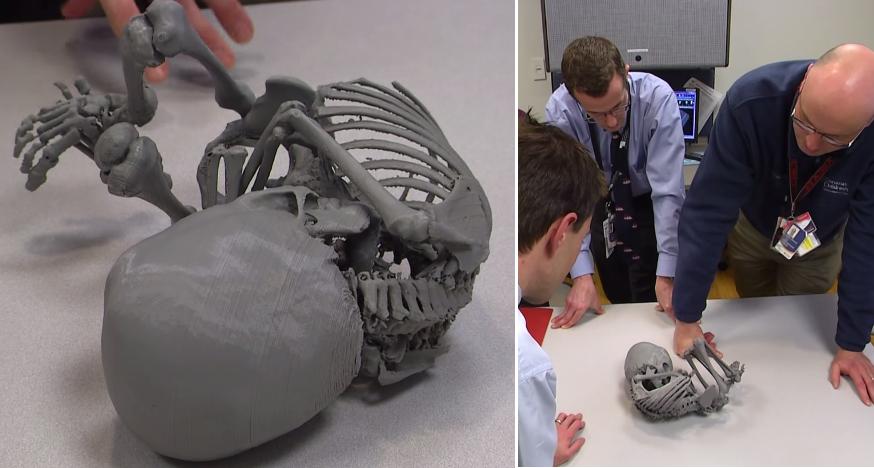 Исследователи напечатали на 3D-принтере копию 550-летней мумии ребенка