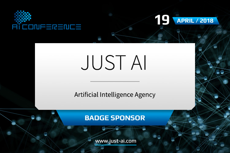 IT company Just AI – Badge Sponsor of the conference and participant of the exhibition area