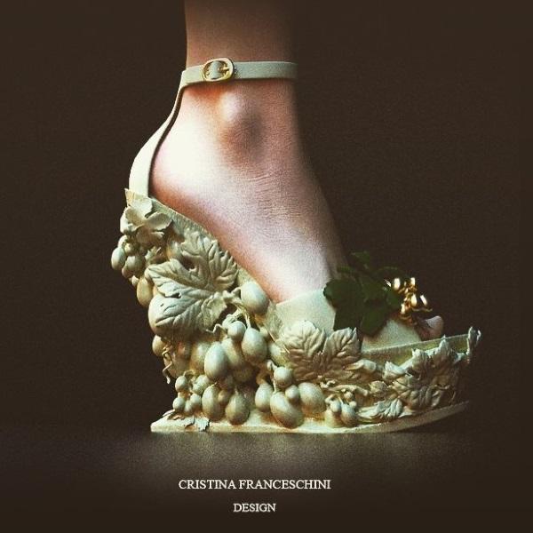 Итальянский дизайнер представила коллекцию 3D-печатной обуви и аксессуаров