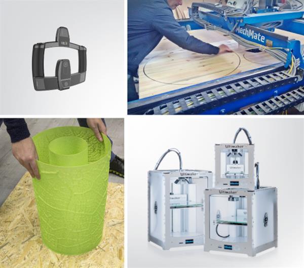 Итальянцы представили мебель, созданную с применением 3D-печати
