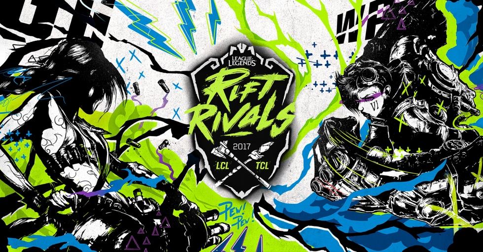 First day results of LoL Rift Rivals Green 2017 tournament