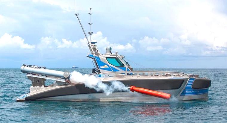 Израильский боевой катер-беспилотник успешно прошел испытания