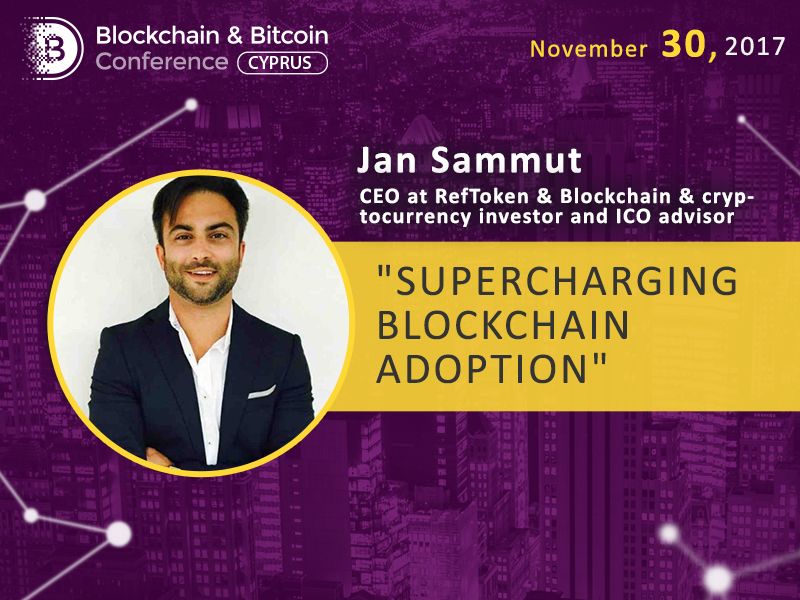 Jan Sammut will speak about influencer marketing strategies for blockchain startups at Blockchain & Bitcoin Conference Cyprus