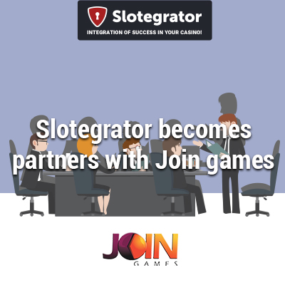 Join Games slots to be available on Slotegrator