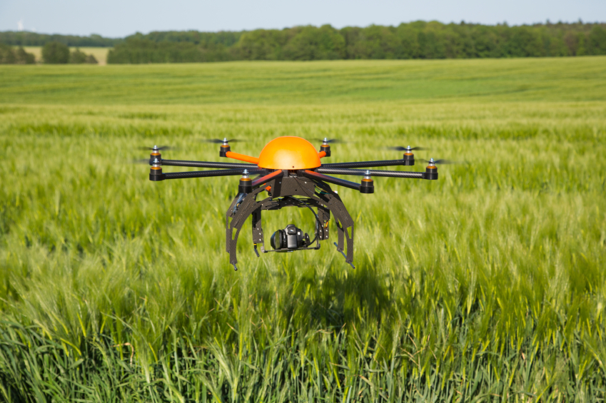 Сельскохозяйственные дроны