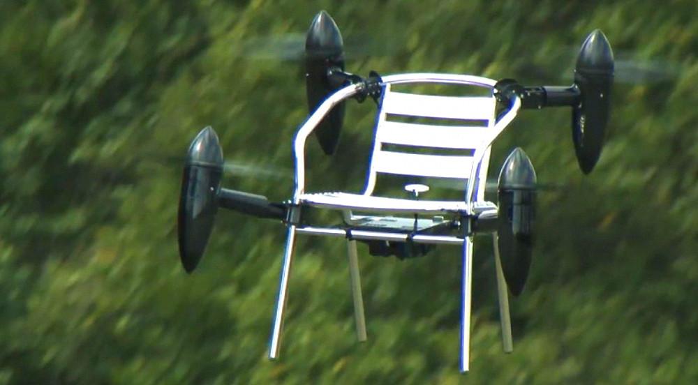 Как превратить стул в дрон? Беспилотная платформа PD-ANY