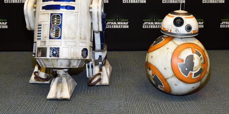 Как создавался дроид ВВ-8 для «Звездных войн». Видео