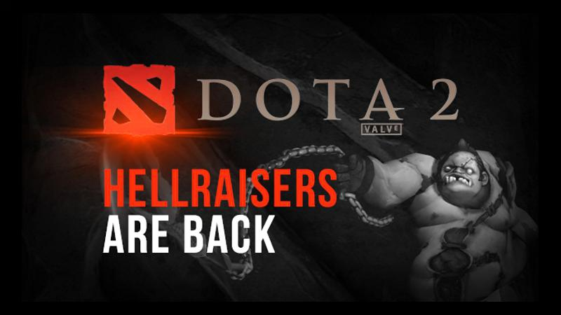 HellRaisers returned to Dota 2 with Planet Dog players