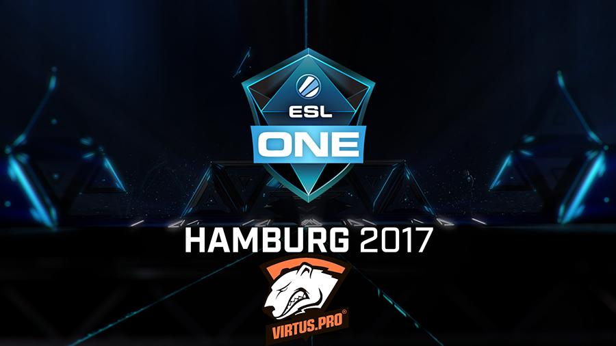 Клуб Virtus.pro прошел отборочные на ESL One Hamburg с фондом в $1 млн