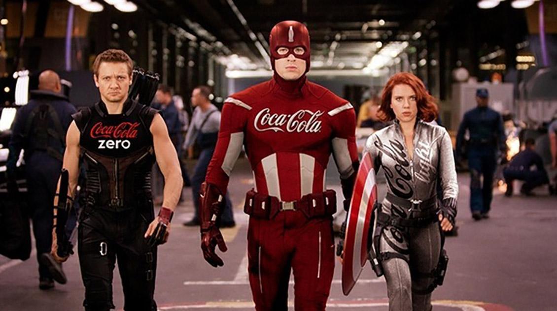 «Кока-Кола» от Халка и «Турецкие Авиалинии» от Бэтмена и Супермена