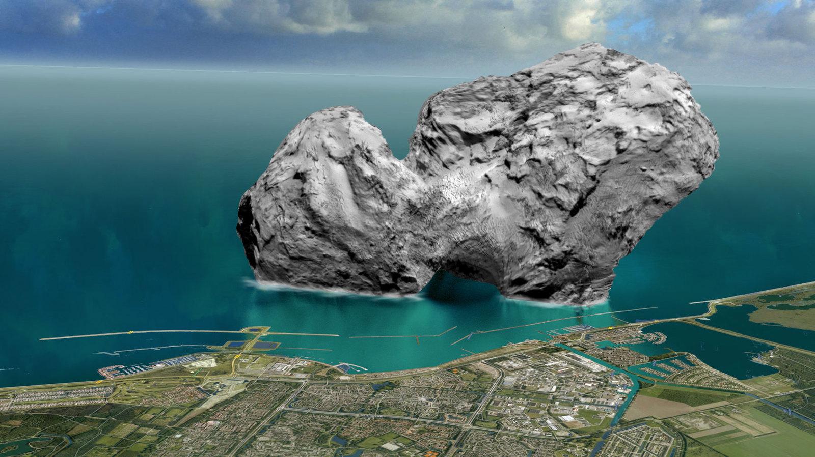 Кометная пыль поможет узнать, как зародилась Солнечная система
