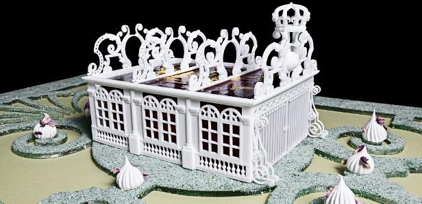 Компания 3D Systems сделала Версальский дворец съедобным