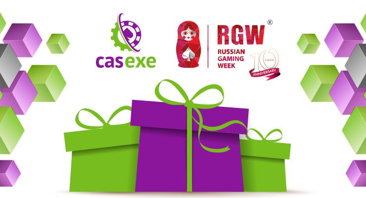 Компания CASEXE приготовила посетителям RGW призы и подарки