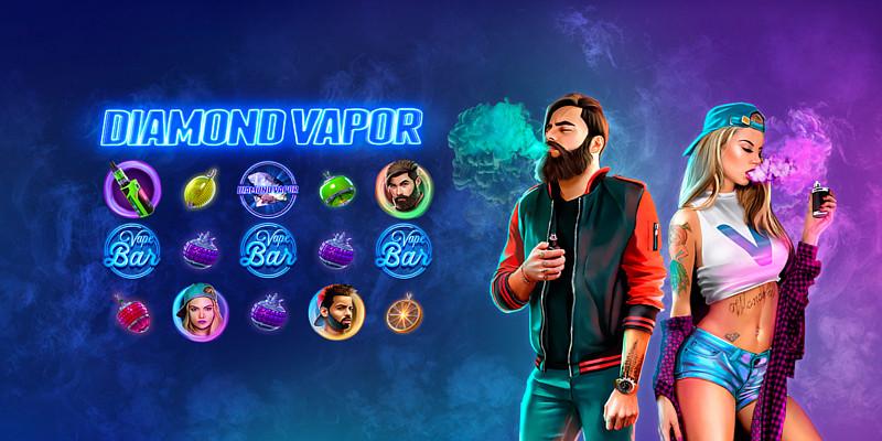 Компания Diamond Vapor вдохновила на создание первой онлайн-игры для вейперов