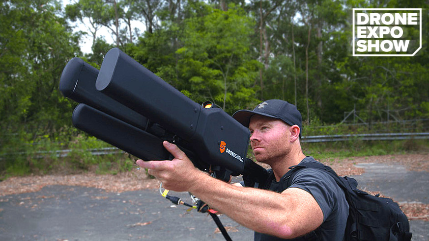 DroneShield developed drone countermeasure device