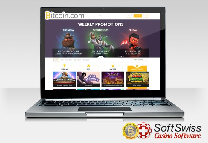 Компания SoftSwiss разработала онлайн-казино для Bitcoin.com