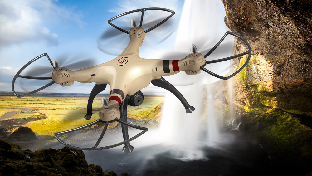Компания Syma Toys презентовала квадрокоптер X8HW