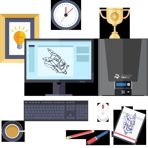 Конкурс на создание лучшего символа для PICASO 3D