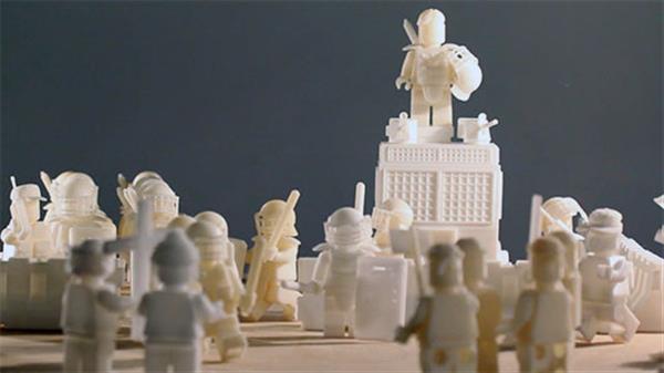Конструктор Lego и 3D-принтинг: Оливер Грием уверен, что 3D-печатные игрушки – это тоже искусство