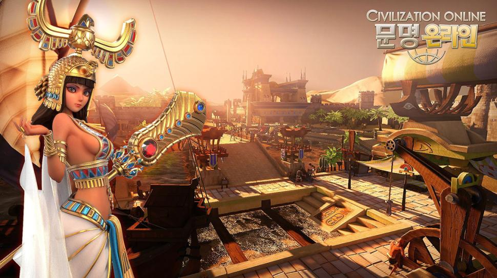 Косплей Нефертити по Civilization Online