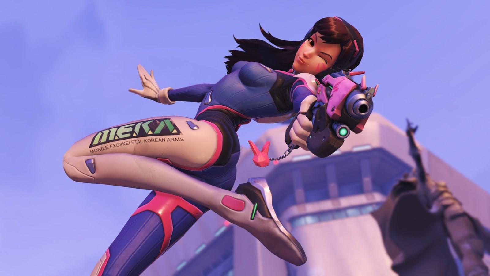 Косплей персонажев Overwatch от девушек из СНГ