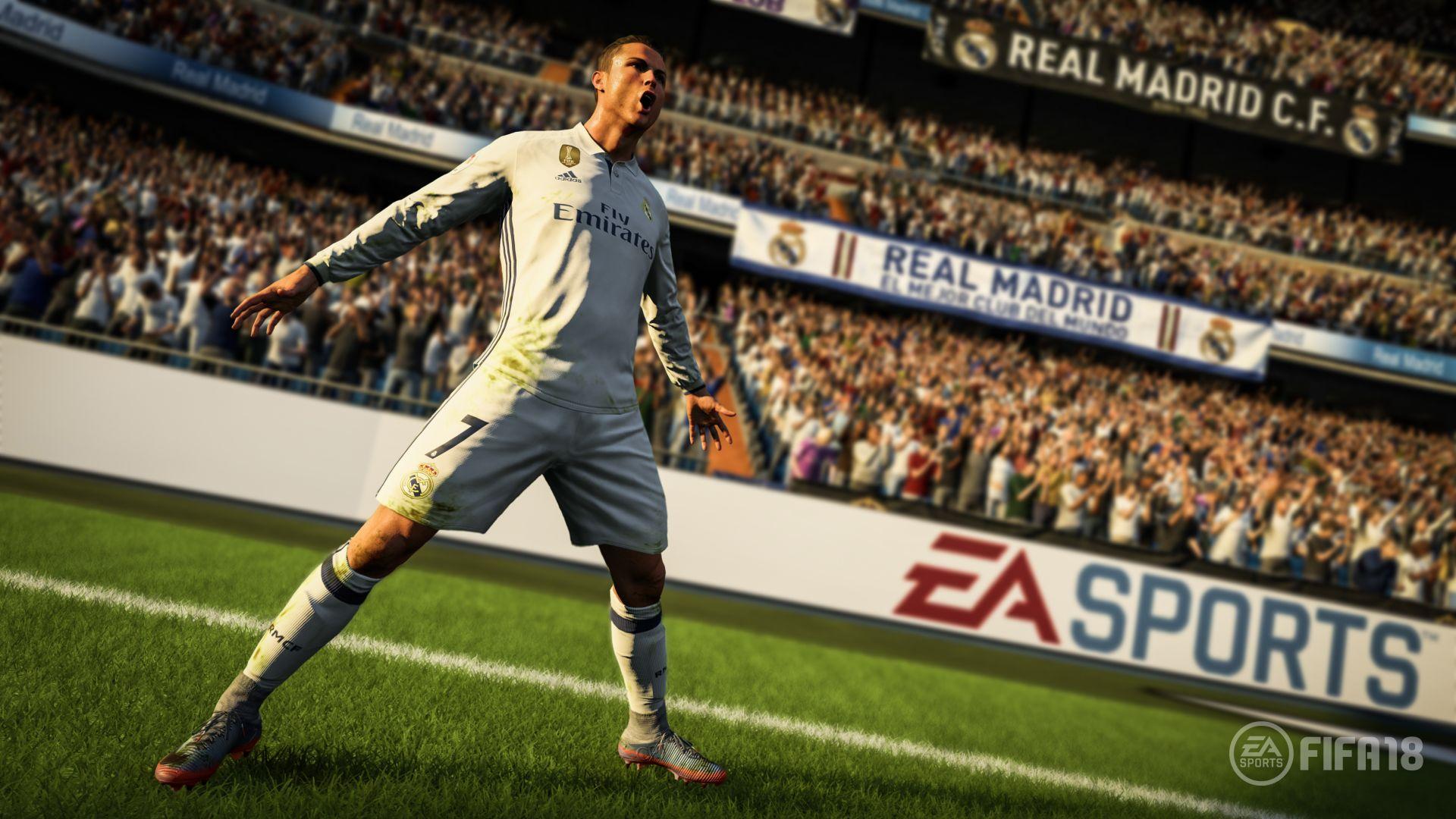 Криштиану Роналду станет лицом новой FIFA