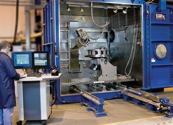Крупногабаритная 3D-печать металлами по технологии EBAM компании Sciaky