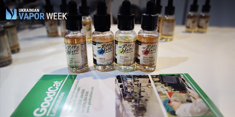 Who makes eJuice components? GoodCat Laboratories at Ukrainian Vape Week